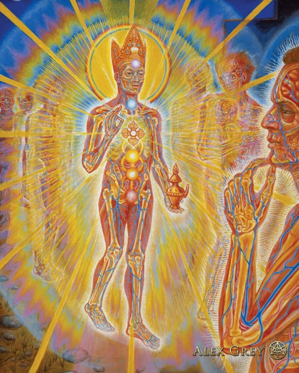 Nature of Mind by Alex Grey