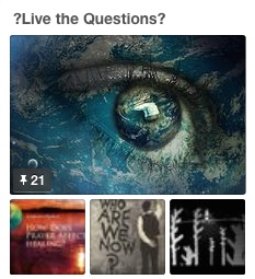 ?Live the Questions?