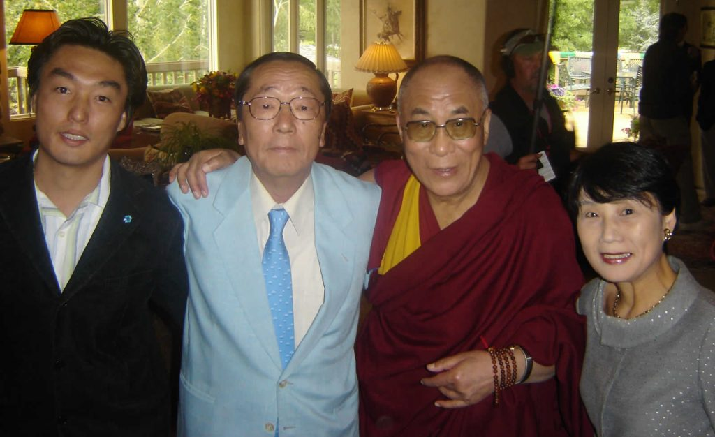 Dr. Emoto with Dalai Lama